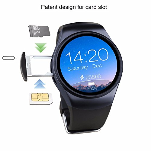 PINCHU LF18 Bluetooth Smartwatch MTK2502C Support SIM TF Card Pedometer Heart Rate Monitor