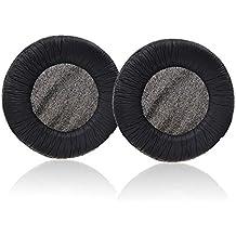 Repuesto de Vever® Almohadillas almohadillas cojines para Panasonic Technics rp-dj1200a, rp-1200DJ, Pro rp-dh1250/Pioneer hdj-1000hdj-1500HDJ-2000/RCA/JVC/Sennheiser hd205, HD215, hd225auricular (Paquete con logotipo de Vever)