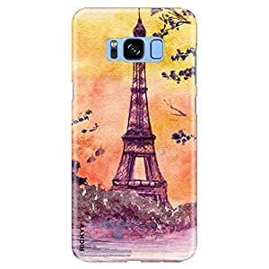 """RICKYY Samsung Galaxy S8 back cover, printed designer slim fit hard case, light weight """"360 degree"""" protection, matte finish case for Samsung S8 (RD 2569)"""