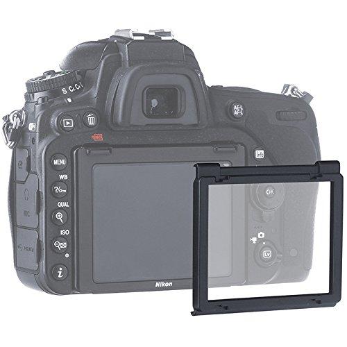 Nikon D750 Displayschutzfolie, Snap-On Scratch Proof LCD Bildschirmschutz für (Nikon D750)