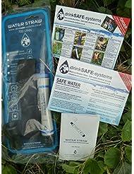 Waterstraw - Up to 700 litre Purifie et filtres à eau sans produits chimiques