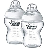 Tommee Tippee Closer to Nature - Biberón, 260 ml (pack de 2)