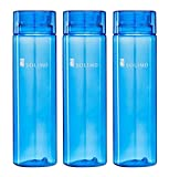 #6: Solimo Water Bottle, 1000 ml, Set of 3, Blue