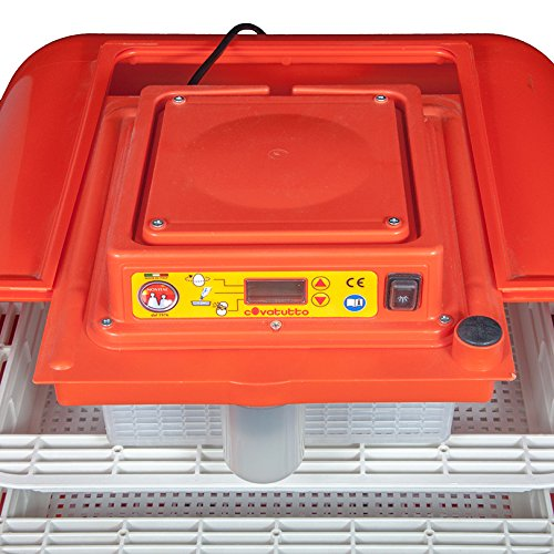 Covatutto 108 Brutmaschine / Brutgerät / Motorbrüter – Vollautomatisch – Incubator – digital - 6