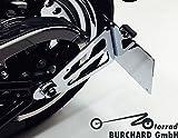Seitlicher Kennzeichenhalter Harley Davidson Softail ab 2008 mit TÜV Teilegutachten