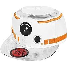 Star Wars Episodio 7 - La Fuerza despierta - BB-8 astromecánico casquillo del snapback droide blanco / plata