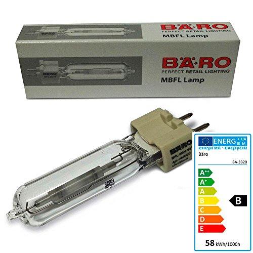 Bäro Entladungslampe BFL Mini 3320 50 Watt Sockel GBX12-1 Lebensmittellampe -