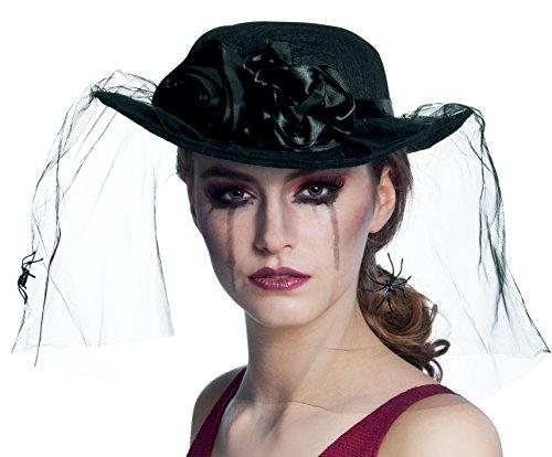Boland 04120 04120-Hut Schwarze Witwe (Verkleidung Schwarze Witwe Kostüm)