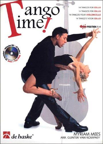 Tango Time!, für Violoncello, m. Audio-CD