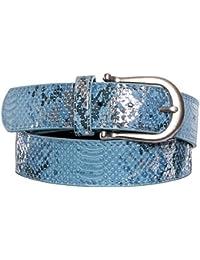 Gadzo® Damen Gürtel schlangen optik Vintage Look kürzbar Kamari14
