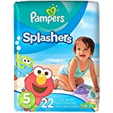 Pampers Splashers Diapers - Jumbo Pack - 22 ct., Size 5