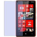 dipos Pellicola protettiva per Nokia Lumia 820 (confezione da 2 pezzi) - antiriflesso pellicola di protezione del display