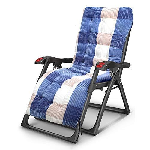 QIDI Chaise Longue , Chaise Pliante , Chaise de Pause déjeuner Chaise Nap , Teslin Simplicité Moderne Pliable avec Dossier Facile à Transporter, Balcon du Bureau