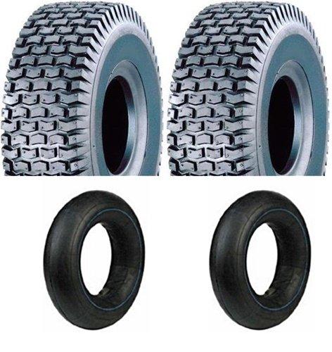 Preisvergleich Produktbild 2 Reifen inkl. Schläuche 13x5.00-6 für Rasentraktor Aufsitzmäher