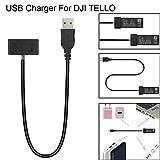 TAOtTAO USB Akku Ladegerät Hub RC Intelligente Lade Für DJI Tello Drone