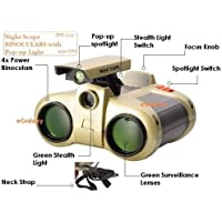 Royals Night Scope Toy Binocular with Pop-Up Light