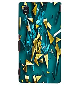 SONY XPERIA M4 AQUA PATTERN Back Cover by PRINTSWAG