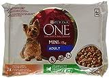 Purina ONE My Dog is… Perro Mini Adulto Pollo y Cordero en Salsa 10 paquetes de 4 x 100 gr