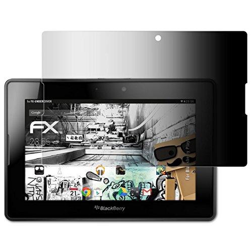 atFoliX Filtro Privacy per Blackberry Playbook 3G  Pellicola Protezione Vista - FX-Undercover Privacy a 4 Vie Protezione Pellicola dello Schermo