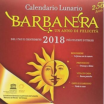 Calendario Lunario Barbanera 2018