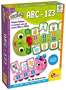 Juego Educativo Carotina Baby Tab de Lisciani Giochi 60863 Primer abecedario-123
