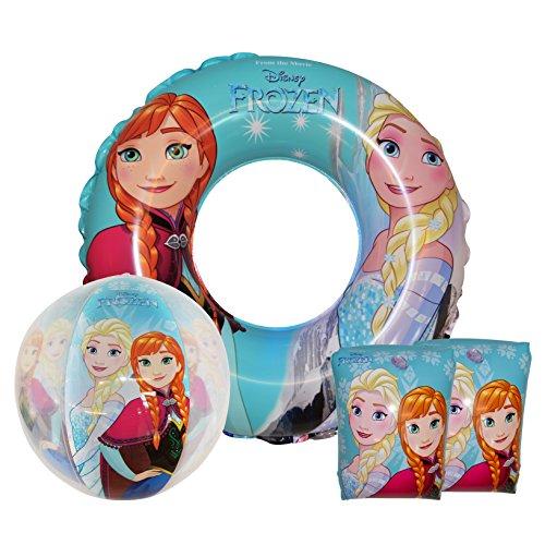 Disney Dory, Frozen, The Good Dinosaurier, Marvel Avengers Swim-Set für Schwimmbad, Frozen 'Anna & Elsa'