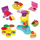 #6: Halo Nation Ice Cream Clay Set Toy for Kids. Unlimited Fun. No Batteries Required. Make Ice Cream with Clay