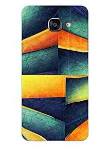 Samsung On Max Back Cover - 3D Maze - Hard Shell Back Case