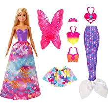 Barbie GJK40 Dreamtopia Dress Up Gift Set