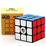 #2: Cubelelo YuXin Little Maigc Speed Cube, 3X3 Black