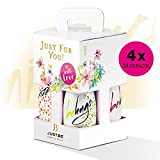 Justbe Lifestyle Drinks - 4er Aperitif Geschenk Box MIX W