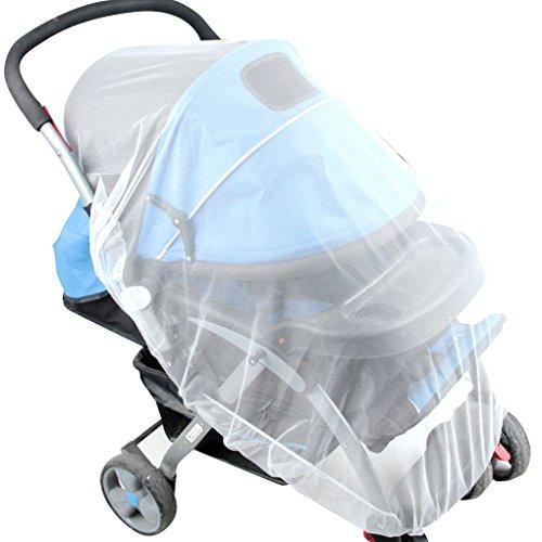 Junecat Moskitonetz Spaziergänger Kleinkinder Baby Safe Mesh-Weiß Bienen-Insekt-Wanzen-Abdeckung - Cover Mesh Reisebett