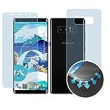 atFolix Schutzfolie für Samsung Galaxy Note 8 Folie - 3er Set FX-Curved-Clear Flexible Displayschutzfolie für gewölbte Displays - vollflächiger Schutz bis zum Rand