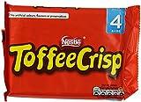 Nestlé Toffee Crisp Multipack  38 g (Pack of 15, Total 60 Bars)