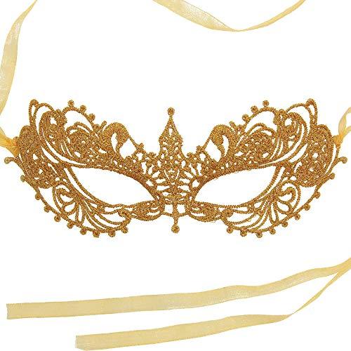 Venezianische faschingsmasken Maskerade maskenball Maske Organzaband ()