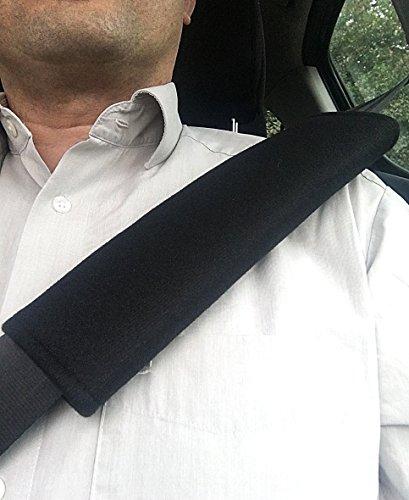 Livoto Premium Gurtpolster im Zweierpack
