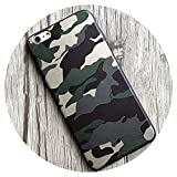For iPhone 7 6 6S Plus Case Navy Army Camo Pattern Soft Pu Leather Case Back Cover For iPhone X 10 6 6S 8 Plus,Green,8Plus Plus8