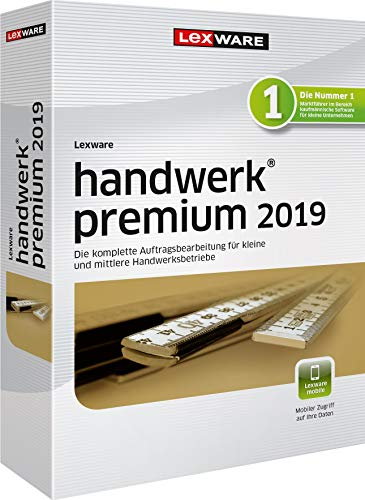 Lexware handwerk premium 2019 Jahresversion (365-Tage)