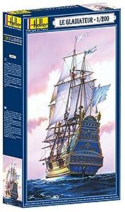 Glow2B - Barco de modelismo Escala 1:150 (7x50x32 cm) Importado de Alemania