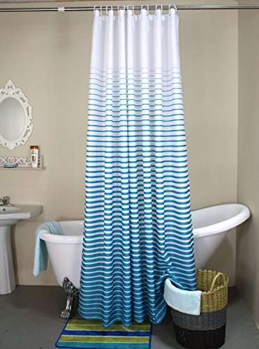 dyhome-printed-fabric-shower-curtain-polyester-waterproof-mildew-free-bathroom-curtains-with-hooks-g