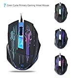 #9: Riitek RM400 2400DPI Wired Gaming Mouse With LED Breathing Backlit