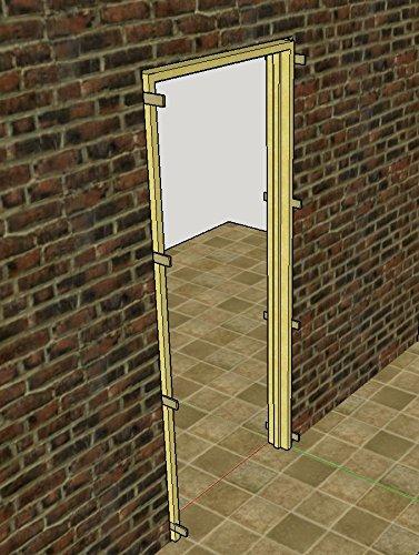 Wooden Wedges Set of 12 Levelling Door Stops Anti sash Window Fence Rattle (Wood)