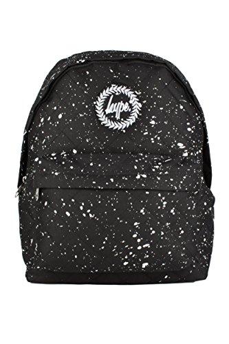 Hype Rucksack Tasche - Verscheidene Farben Black Quilted White
