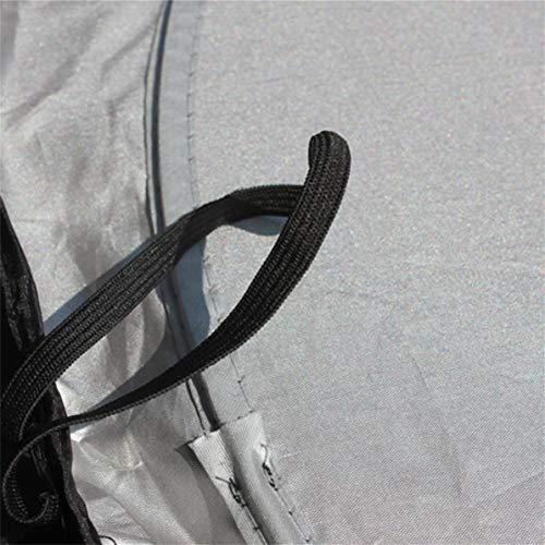 JenNiFer 80X150Cm Parabrezza per Auto Parasole A Scomparsa per Parabrezza Retrattile