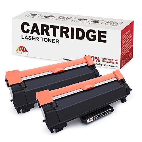 Mony Compatibile per Brother TN2420 TN 2420 Cartucce Toner (2 Nero, con Chip) per Brother HL-L2350dw MFC-L2710dw DCP-L2530dw DCP-L2510d MFC-L2710dn MFC-L2750dw HL-L2310d DCP-L2550dn Laser Stampante