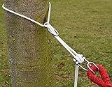 XXL Befestigung für Hängematte an Bäumen | Seilbefestigungsset 6 Meter | Belastbarkeit max. 160 KG | Komplettset - 5