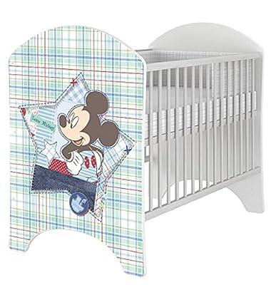 Preciosa Cuna Disney Mickey Mouse, Bambi, Winnie De Pooh