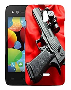 Toppings 3D Printed Designer Hard Back Cover For InFocus M2 4G Design-10013
