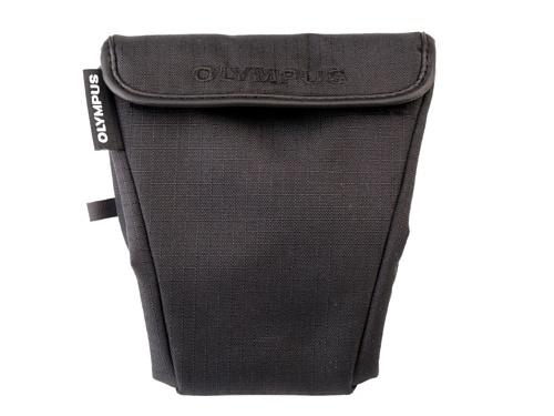 Olympus - Etui souple noir appareils photo hybrides logo Olympus
