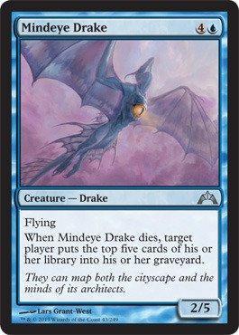 Magic: the Gathering - Mindeye Drake (43) - Gatecrash